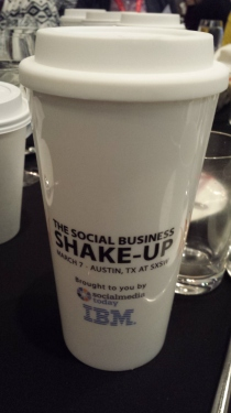 #socialbizshakup at the W
