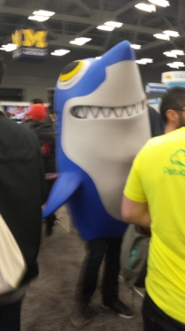 Sharks seem to be a bit of a trend...